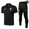 Cfb3 D168 Entrenamiento Manchester United POLO + Pantalones Negro 2019/2020