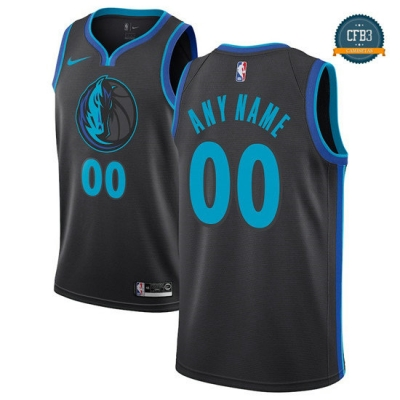 cfb3 camisetas Custom, Dallas Mavericks 2018/19 - City Edition