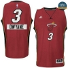 cfb3 camisetas Dwyane Wade, Miami Heat - Christmas Day