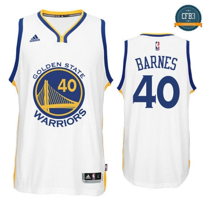 cfb3 camisetas Harrison Barnes, Golden State Warriors [Primera]