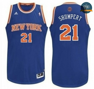 cfb3 camisetas Iman Shumper, New York Knicks [Azul]