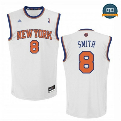 cfb3 camisetas J.R. Smith, New York Knicks [Blanco]