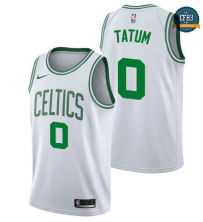 cfb3 camisetas Jayson Tatum, Boston Celtics - Association
