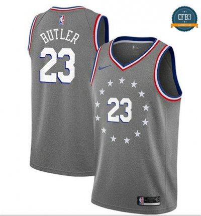 cfb3 camisetas Jimmy Butler, Philadelphia 76ers 2018/19 - City Edition