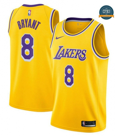 cfb3 camisetas Kobe Bryant, Los Angeles Lakers 2018/19 - Icon