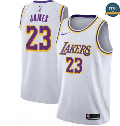 cfb3 camisetas LeBron James, Los Angeles Lakers 2018/19 - Association
