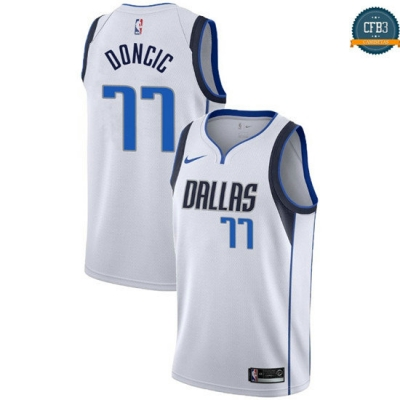 cfb3 camisetas Luka Doncic, Dallas Mavericks - Association