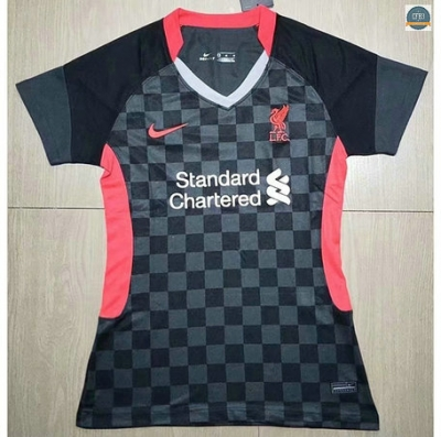 Cfb3 Camisetas Liverpool Mujer Negro 2020/2021