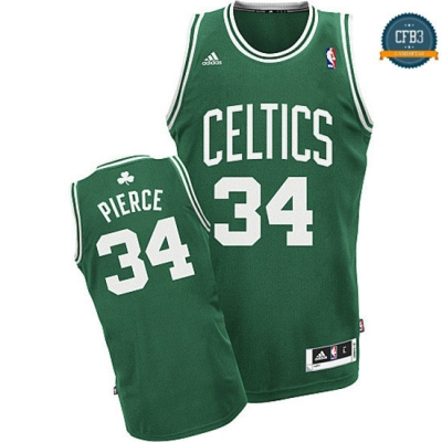 cfb3 camisetas Pierce Boston Celtics [Verde y blanca]