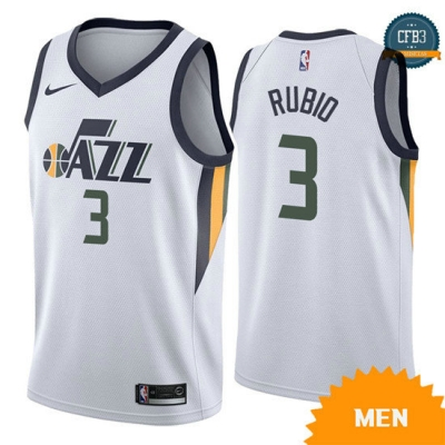 cfb3 camisetas Ricky Rubio, Utah Jazz - Association