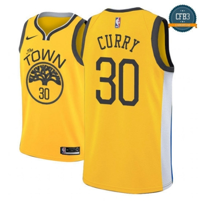 cfb3 camisetas Stephen Curry, Golden State Warriors 2018/19 - Earned Edition