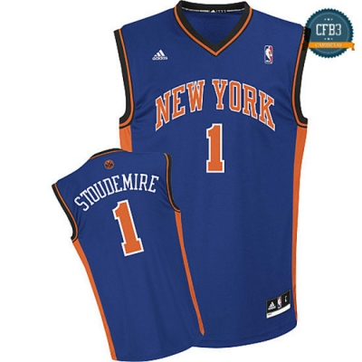 cfb3 camisetas Stoudemire, New York Knicks [Azul]