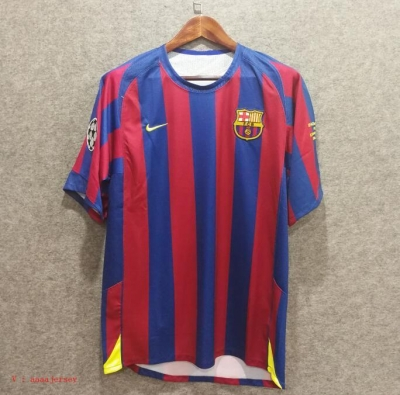Camiseta 2006 UCL final Barcelona