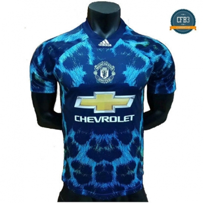 Camiseta Manchester United EA Sports Azul 2018