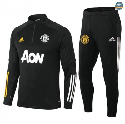 Cfb3 Chandal Manchester United Equipación Negro 2021/2022