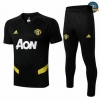 Cfb3 D171 Entrenamiento Manchester United + Pantalones Negro 2019/2020