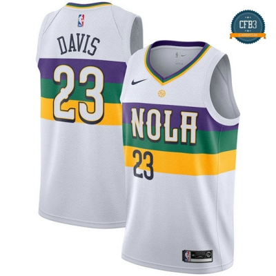 cfb3 camisetas Anthony Davis, New Orleans Pelicans 2018/19 - City Edition