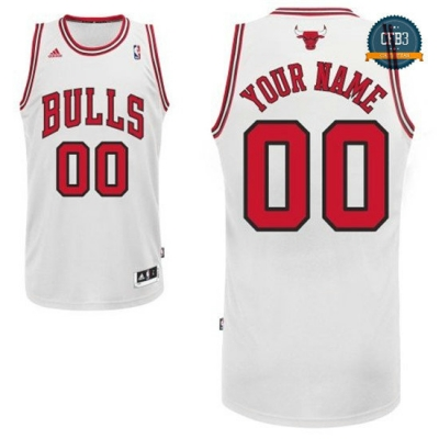 cfb3 camisetas Custom, Chicago Bulls [Primera]