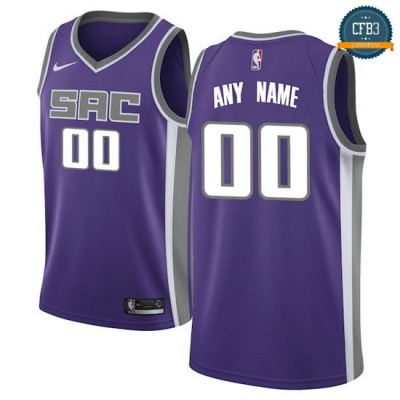 cfb3 camisetas Custom, Sacramento Kings - Icon