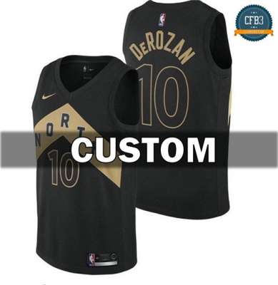 cfb3 camisetas Custom, Toronto Raptors - City Edition