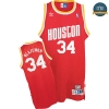cfb3 camisetas Hakeem Olajuwon, Houston Rockets [Alternate]
