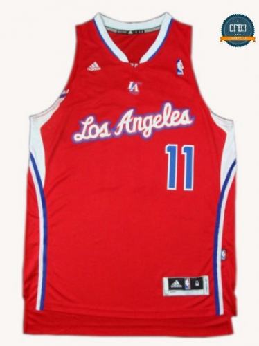 cfb3 camisetas Jamal Crawford, Los Angeles Clippers [Roja]