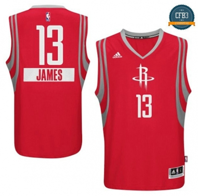 cfb3 camisetas James Harden, Houston Rockets - Christmas Day
