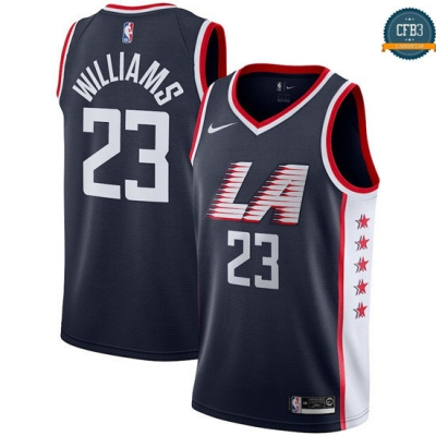cfb3 camisetas Lou Williams, LA Clippers 2018/19 - City Edition