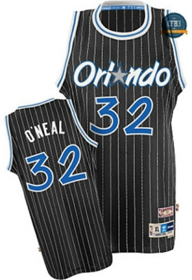 cfb3 camisetas Shaquille O'Neal, Orlando Magic [Negra]
