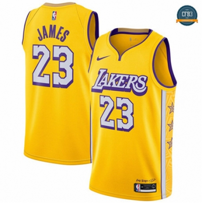 LeBron James, Los Angeles Lakers 2019/20 - City Edition