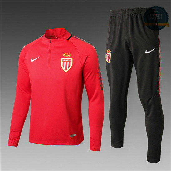 Chándal AS Monaco Rojo 2017