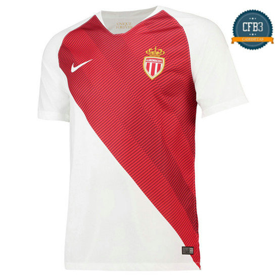 Camiseta AS Monaco 1ª Equipación 2018