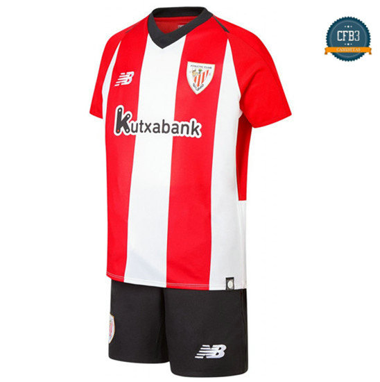 Camiseta Athletic Bilbao 1ª Equipación Junior Rojo/Blanco 2018