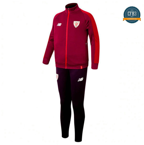 Chaqueta Chándal Athletic Bilbao Rose/Púrpura 2018