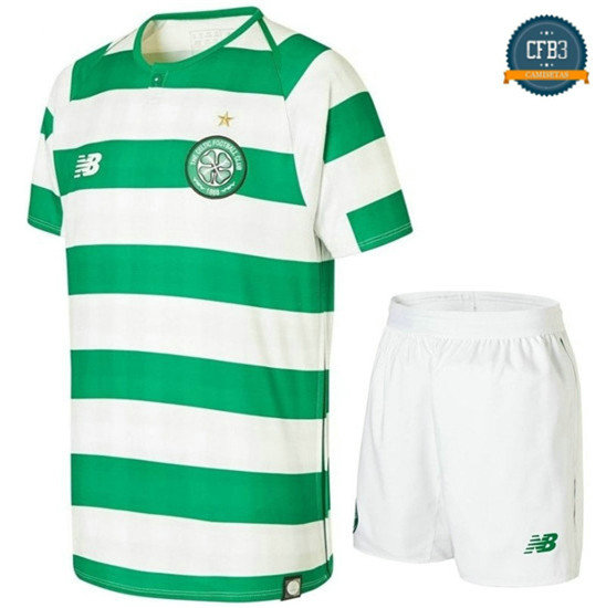Camiseta Celtic Glasgow 1ª Equipación Junior 2018