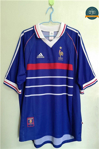 Camiseta 1998 WC final Francia 1ª Equipación
