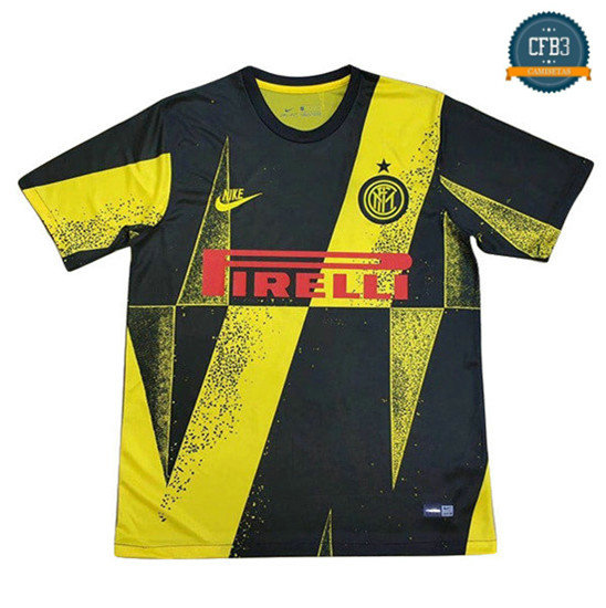 Camiseta Inter Milan champions league edition Negro/Amarillo 2019/2020