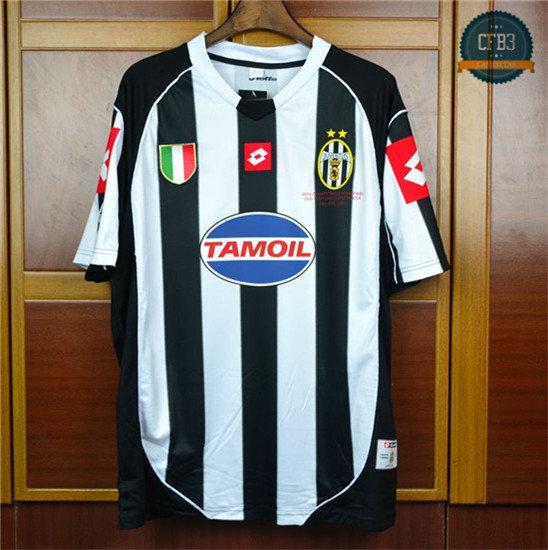 Camiseta 2002-03 Champions League final Juventus 1ª Equipación
