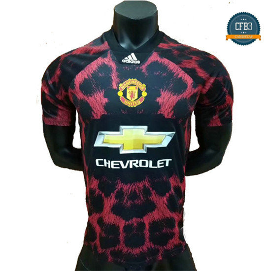 Camiseta Manchester United EA Sports Rojo 2018