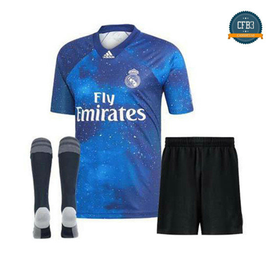 Camiseta Real Madrid EA Sports Niños Blue 2018