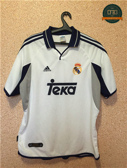 Camiseta 2000-01 Champions League Real Madrid 1ª Equipación