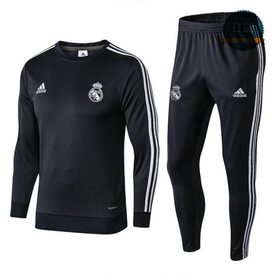 Chándal Real Madrid Negro 2018 O