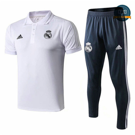 Camiseta Real Madrid POLO Entrenamiento Blanco 2018/2019