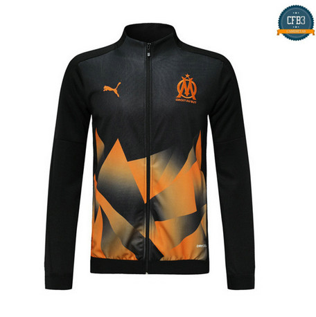Cfb3 D125 Chaquetas Marsella Negro/Orange 2019/2020