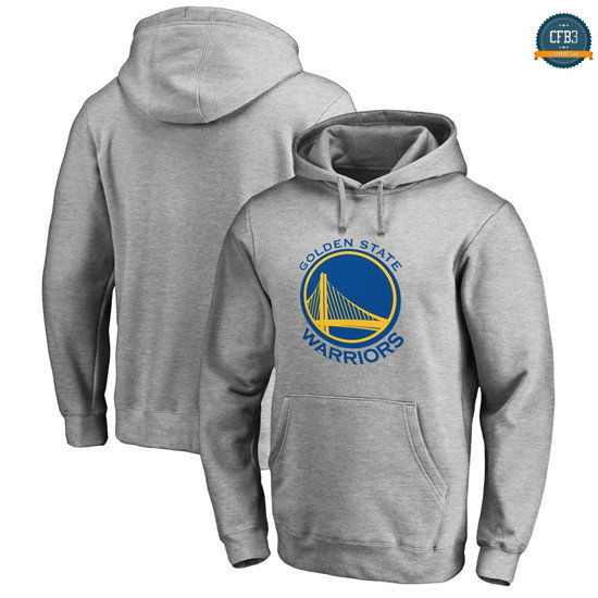 cfb3 camisetas Sudadera con capucha Golden State Warriors