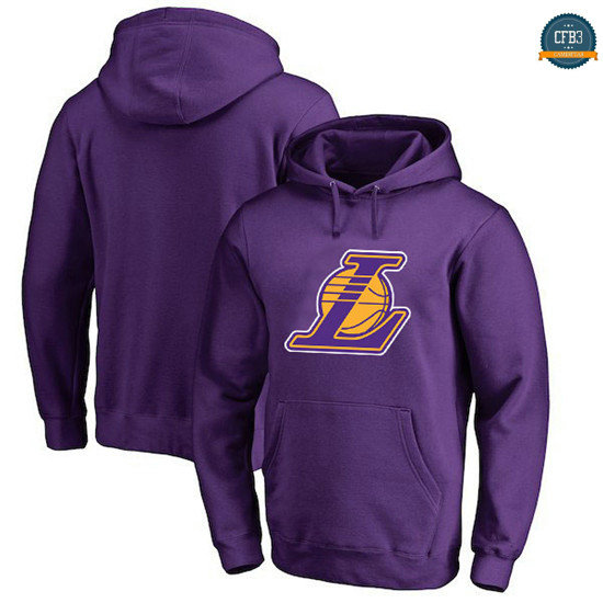 cfb3 camisetas Sudadera con capucha Los Angeles Lakers