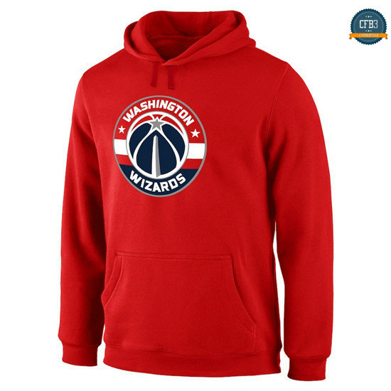 cfb3 camisetas Sudadera con capucha Washington Wizards