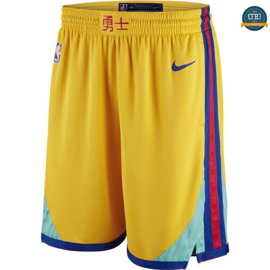 cfb3 camisetas Pantalones Golden State Warriors - City Edition