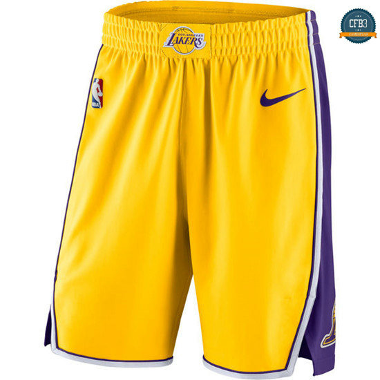 cfb3 camisetas Pantalones Los Angeles Lakers - Icon