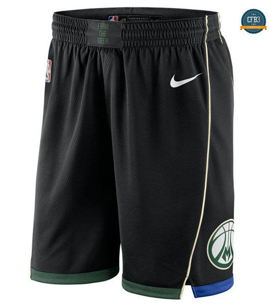 cfb3 camisetas Pantalones Milwaukee Bucks - Statement